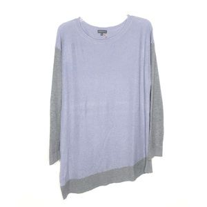 Vince Camuto lavender knit lightweight sweater XL